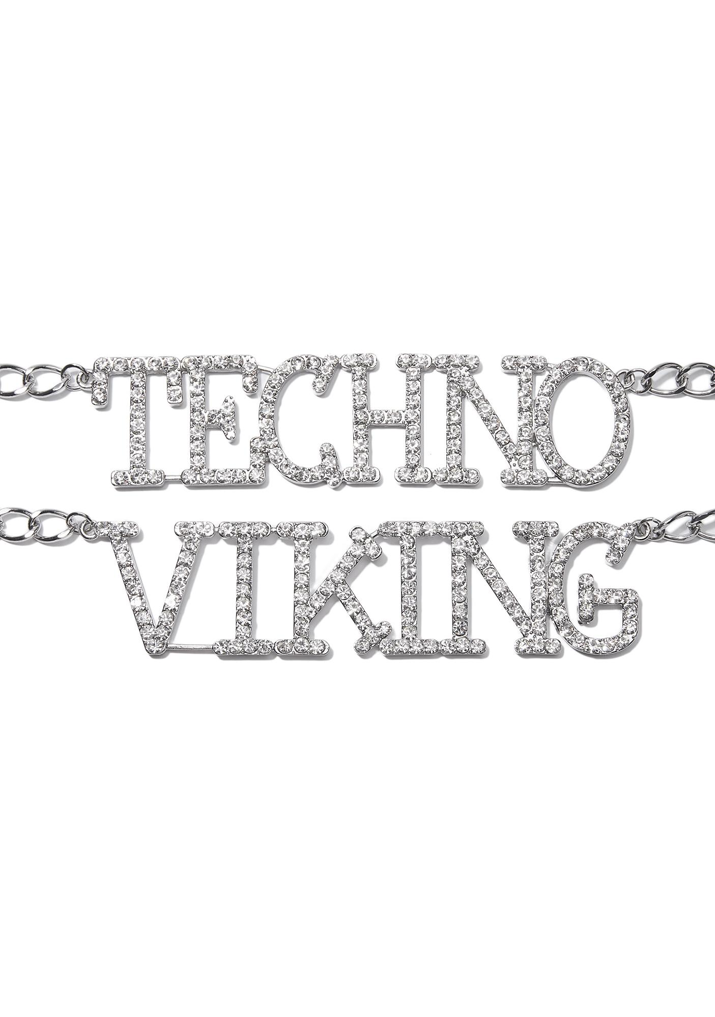 Techno Viking Chain Belt