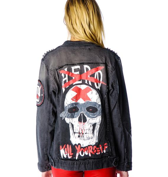 Disturbia Anti-Hero Denim Jacket