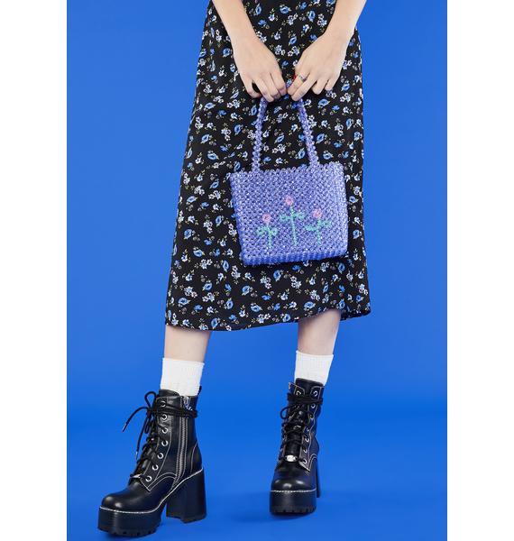 dELiA*s by Dolls Kill Secret Garden Beaded Bag