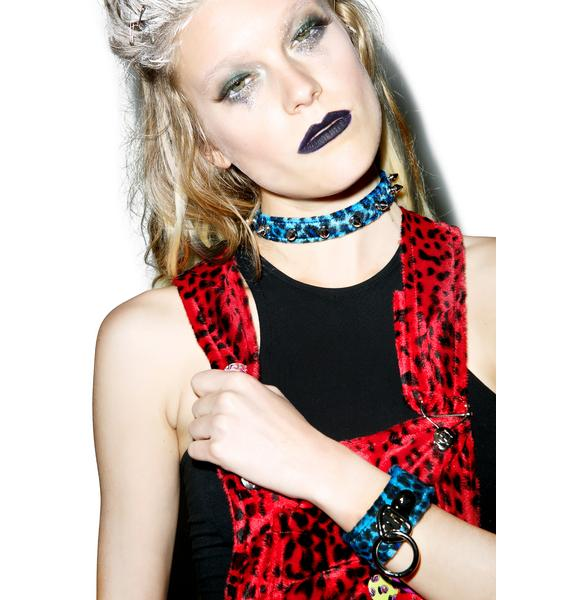 Club Exx Creaturez Spiked Choker