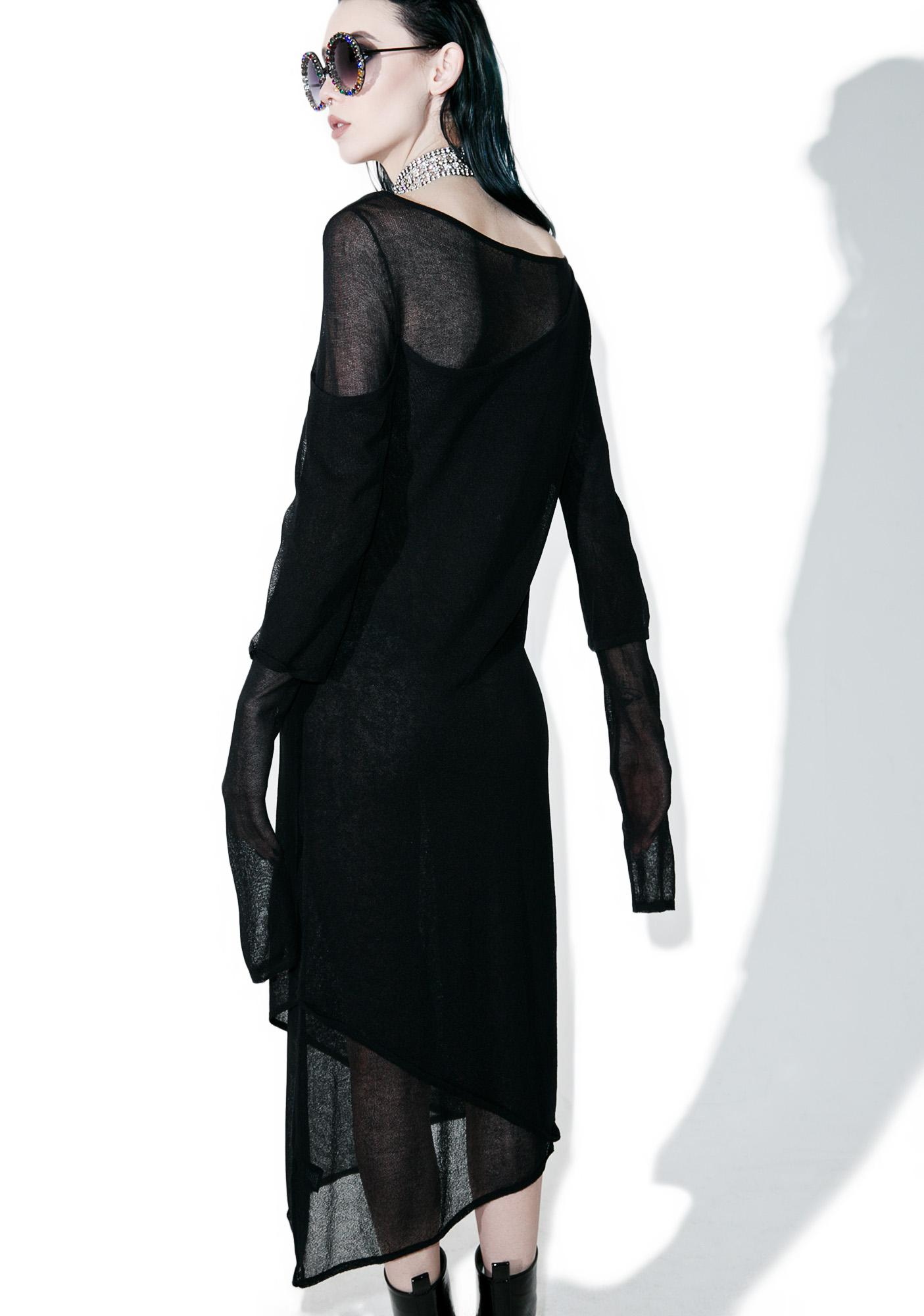 Disturbia Sheer Layered Dress
