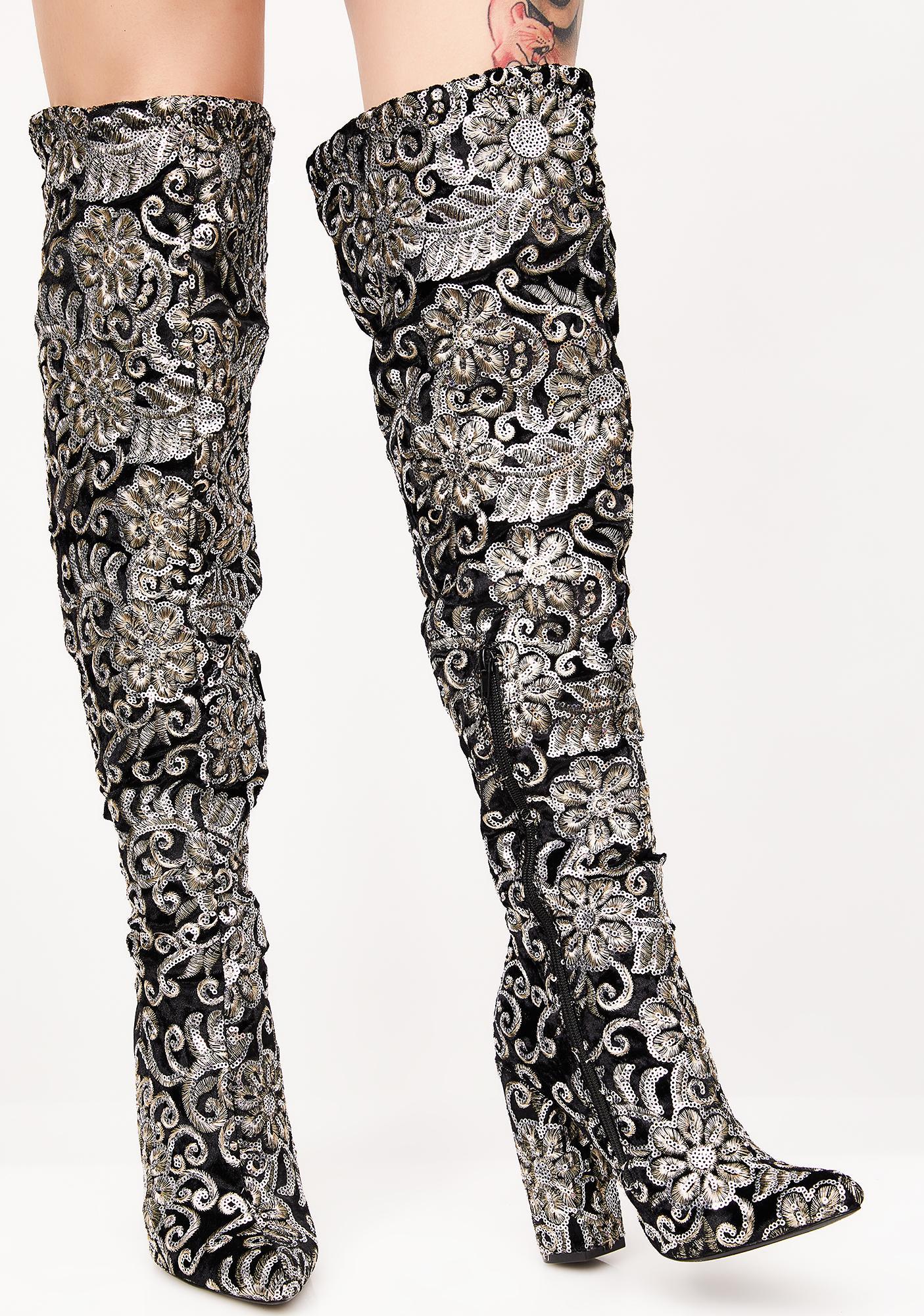 New Awakening Embellished Boots