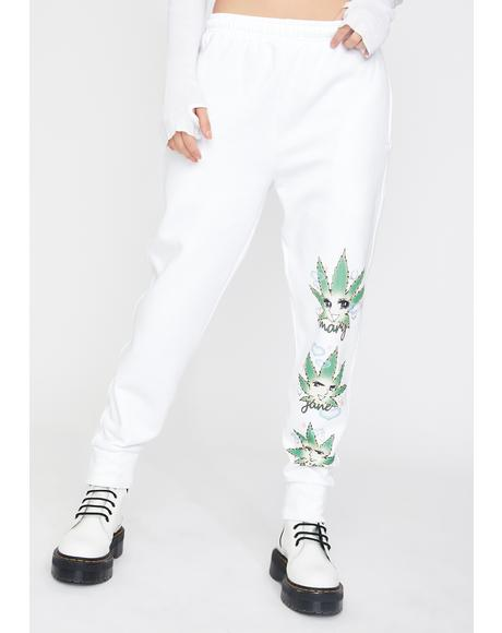 MJN Gang Weed Bae Sweatpants