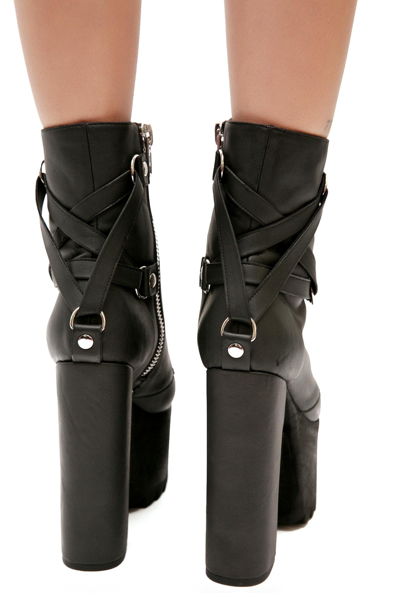Current Mood Devil's Work Platform Boots