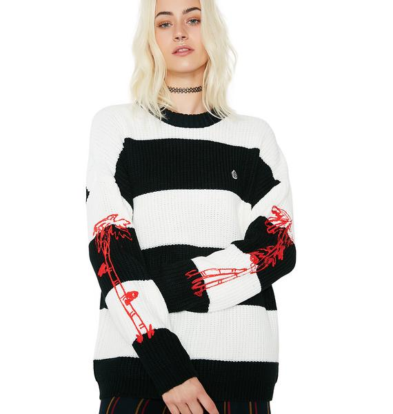 Obey Paradise Lost Crew Sweater