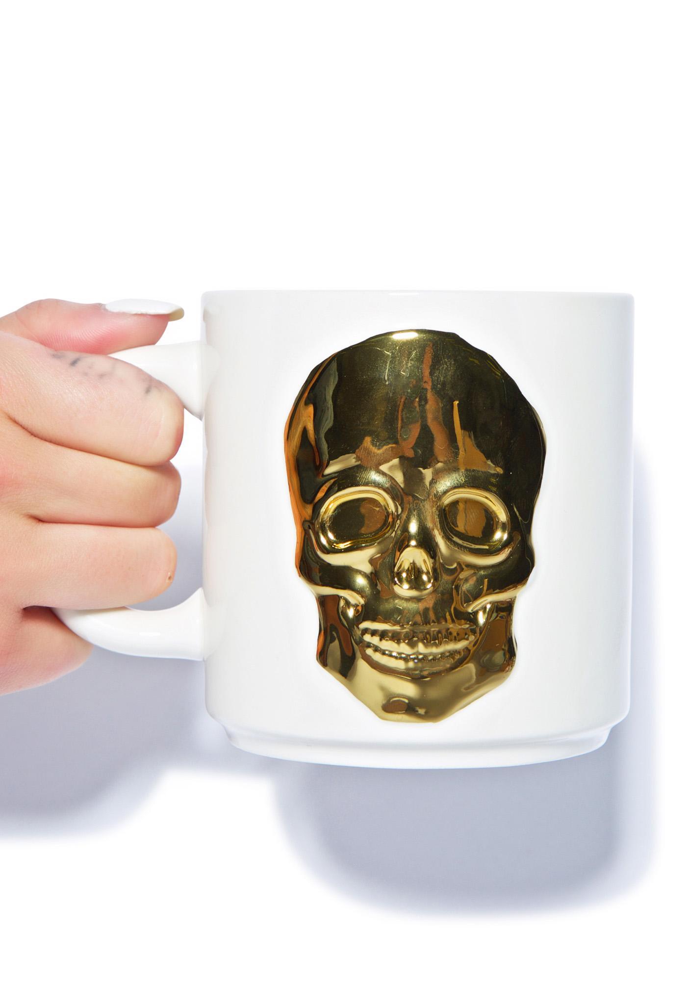 Oracles Skull Mug
