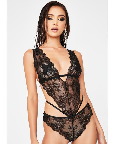 Lookin' Lush Lace Teddy