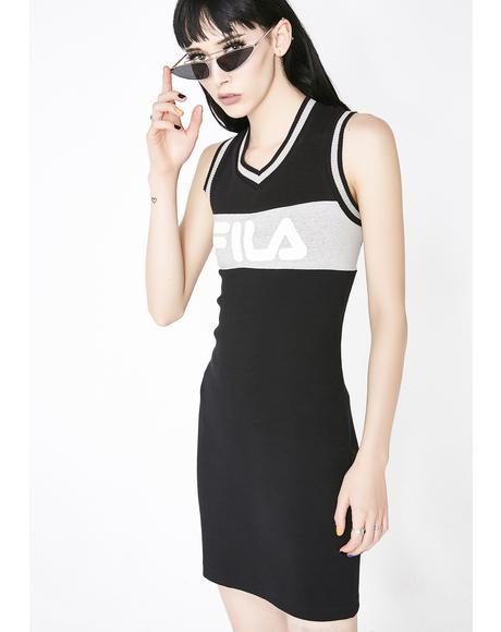 Leigh Rib Dress