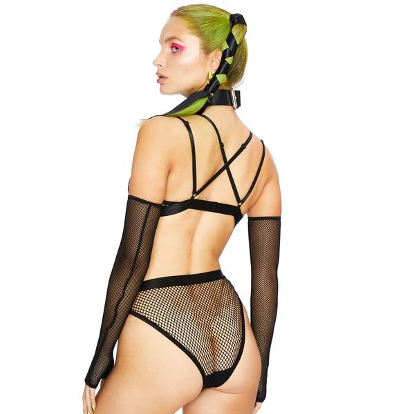 Club Exx Midnight Thrill Seeker Fishnet Bottoms