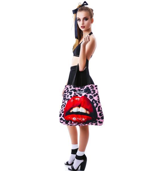 Frank-N-Furter Lip Reversible Tote Bag