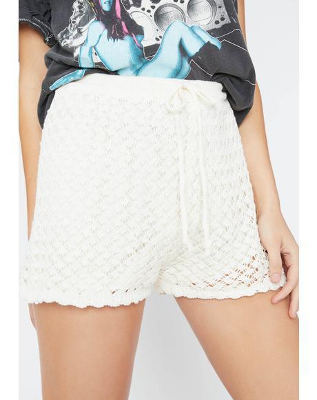 Graceful Soul Crochet Shorts