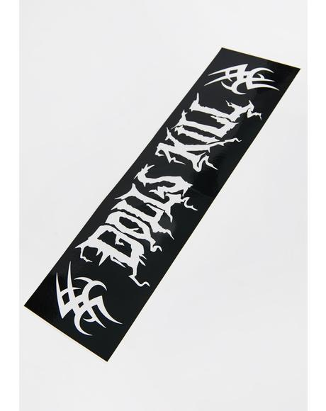 Metal Head Dolls Kill Bumper Sticker