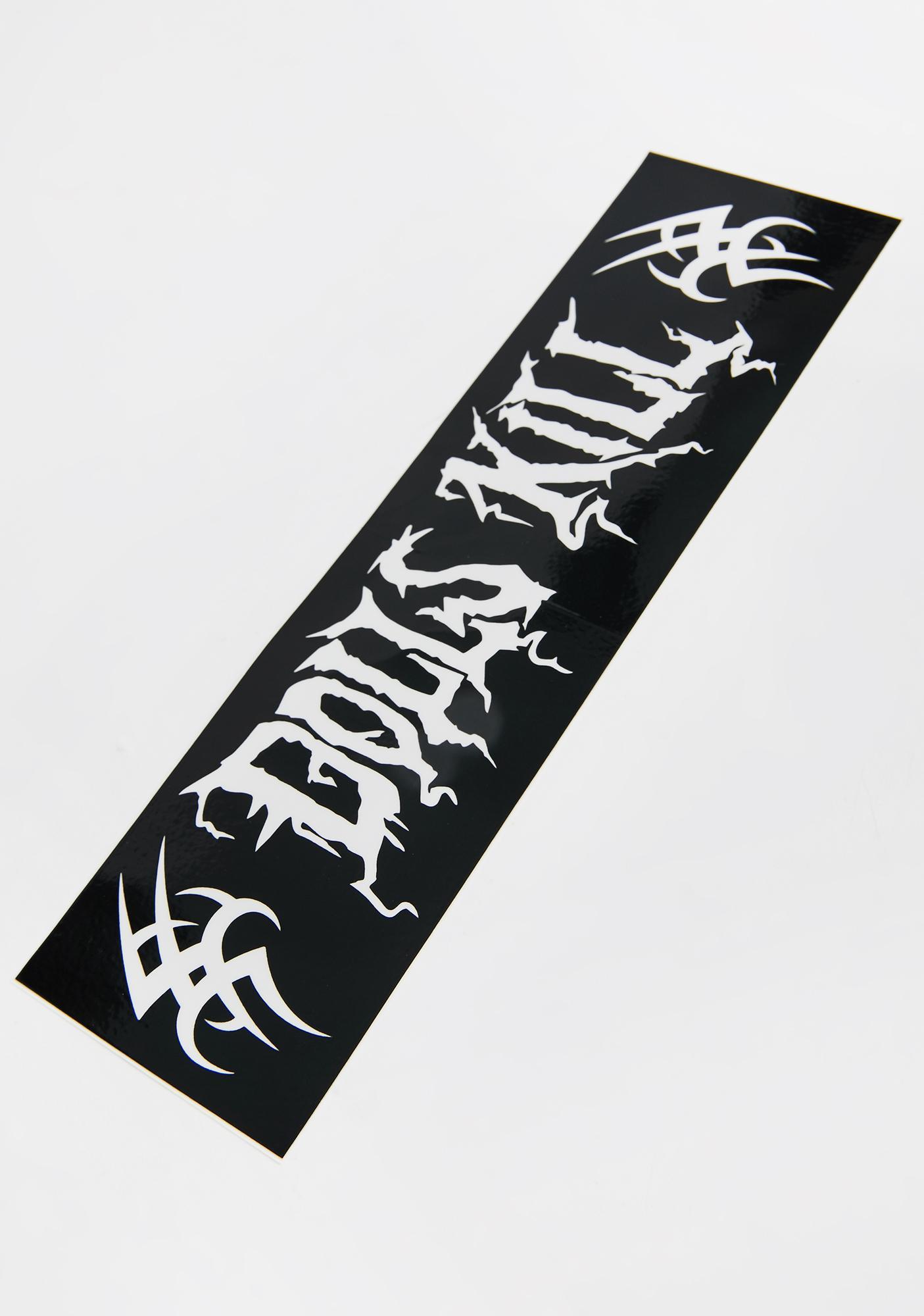 Metal Head Dolls Kill Bumper Sticker