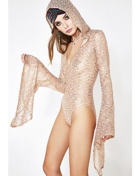 Bliss Opulence Sequin Bodysuit