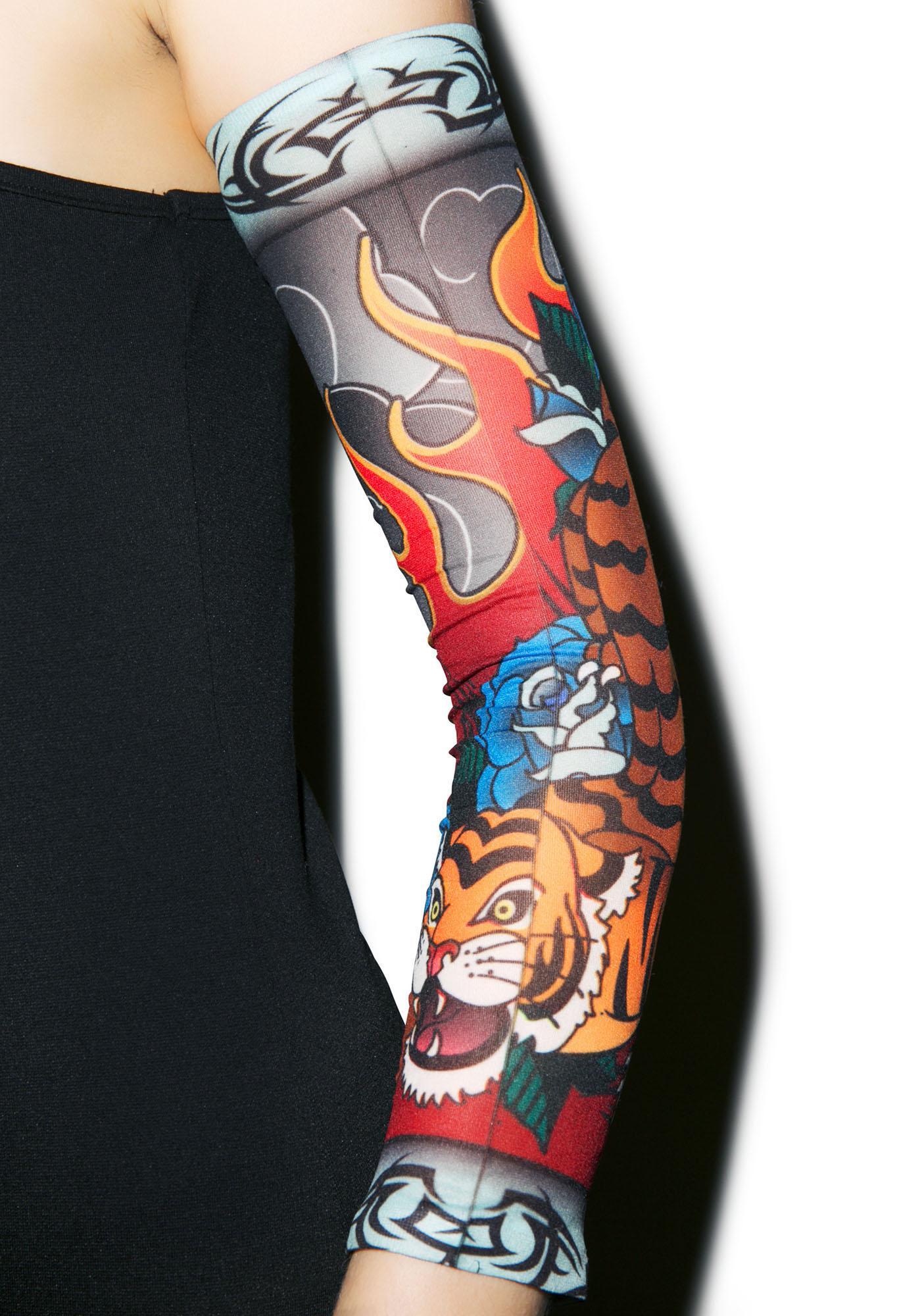 Le Tigre Tattoo Sleeves