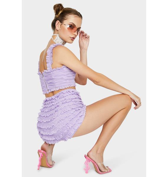 Kiki Riki Lilac Absolute Stunner Ruffle Set