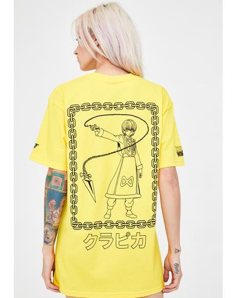 X Hunter x Hunter Kurapika Chain Shirt
