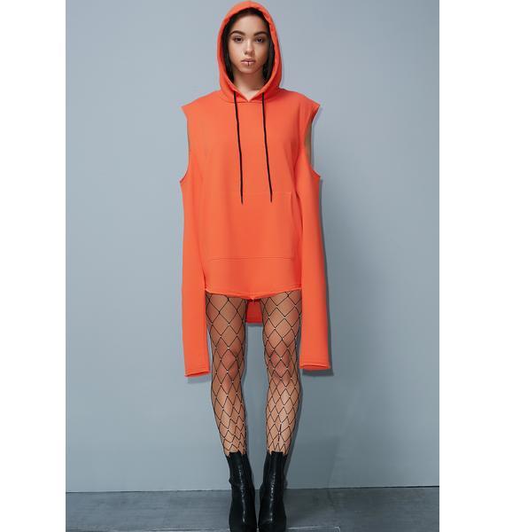 Poster Grl Street Smarts Sweatshirt Dress