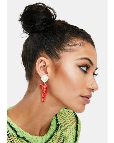 Haute Cheetoh Earrings