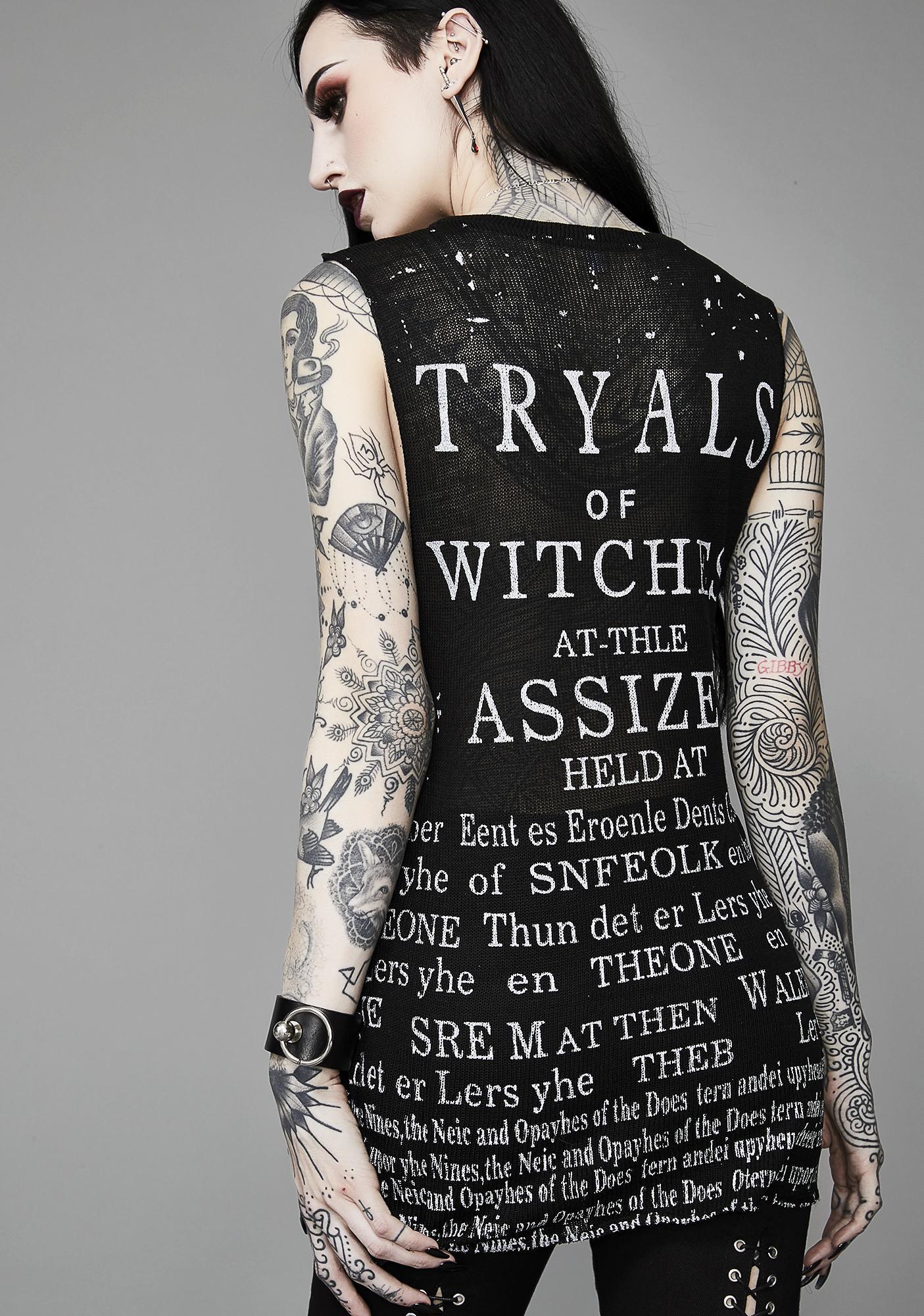 Widow Witch Trials Tank Top