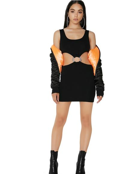Stray Don't Stay Cut-Out Dress