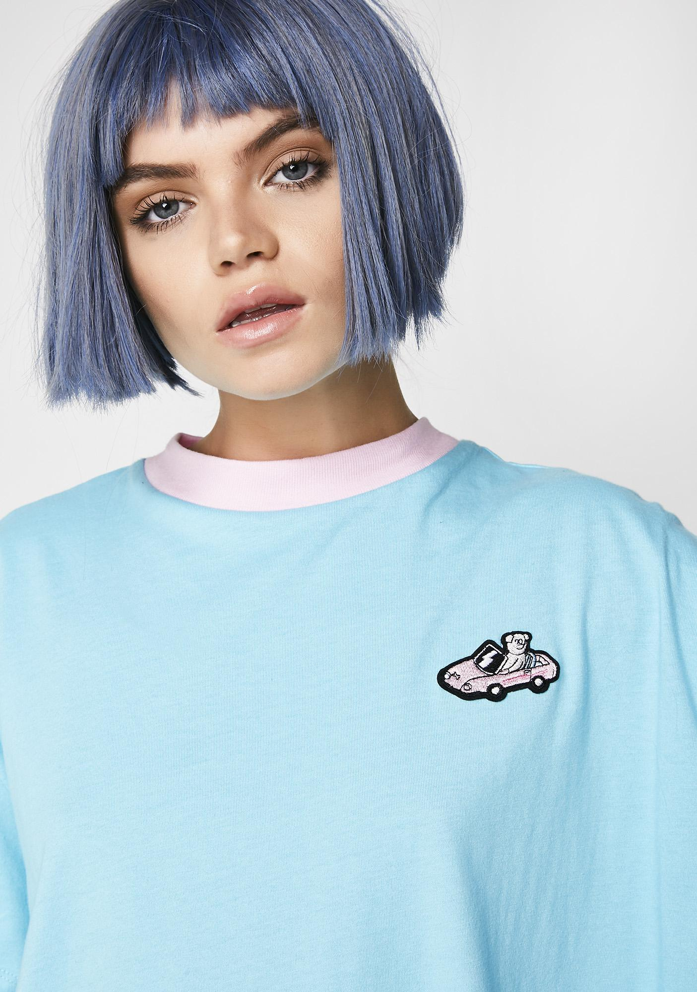 Lazy Oaf Sports Car T-Shirt