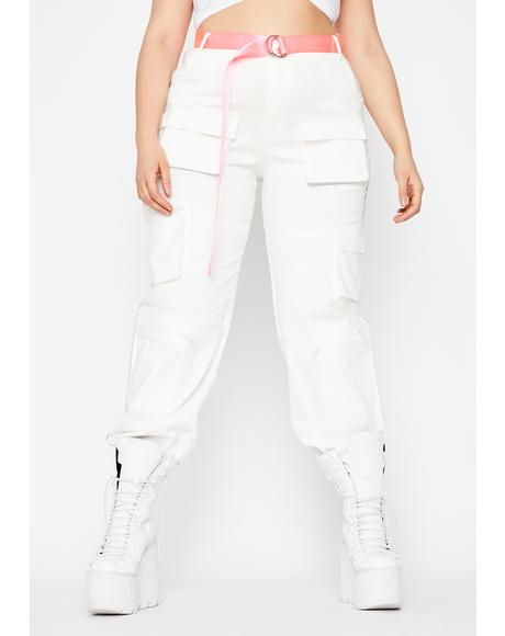 Pure Miss Fight Or Flight Cargo Pants