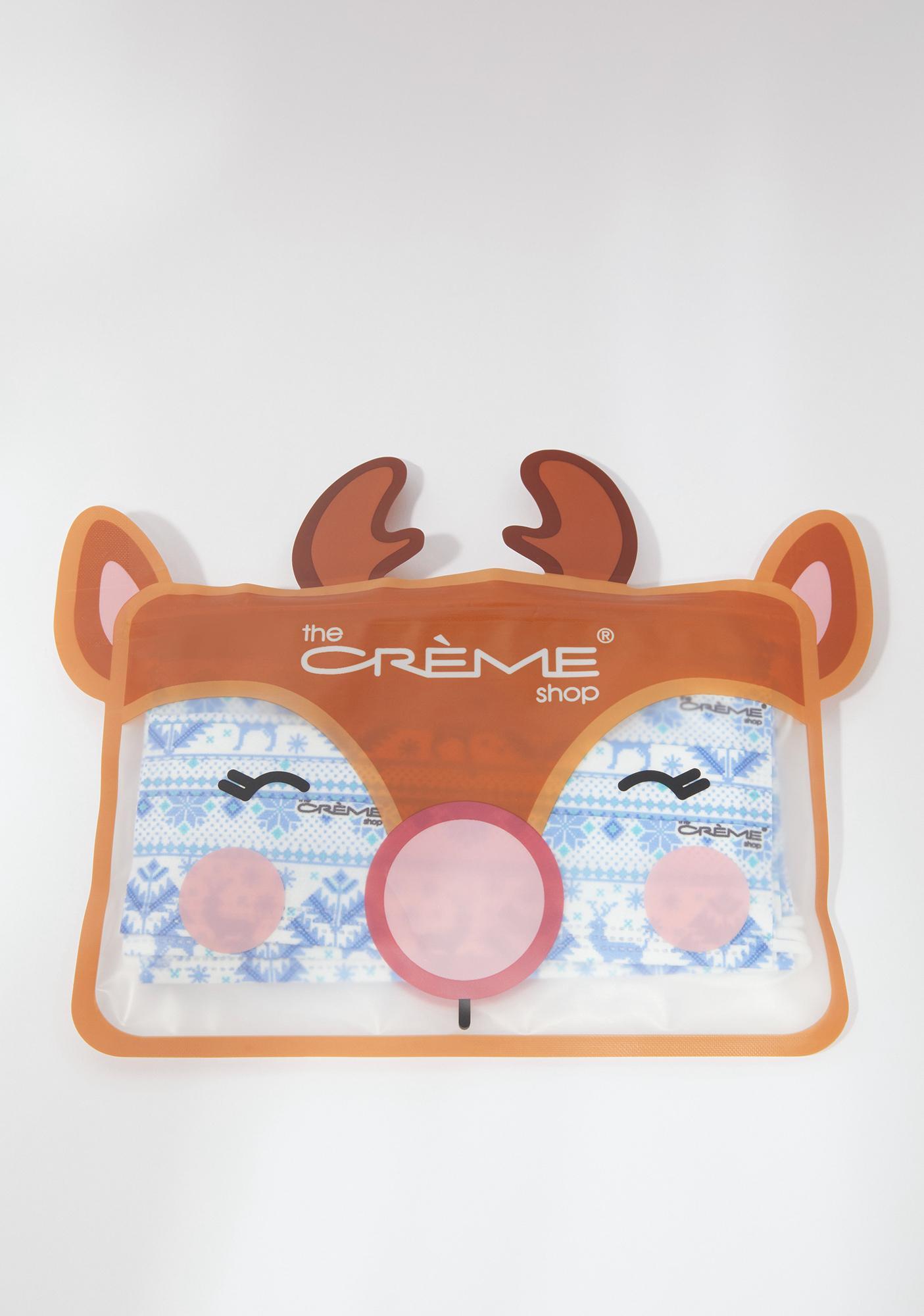 The Crème Shop Winter Wonderland Holiday Disposable Protective Face Masks