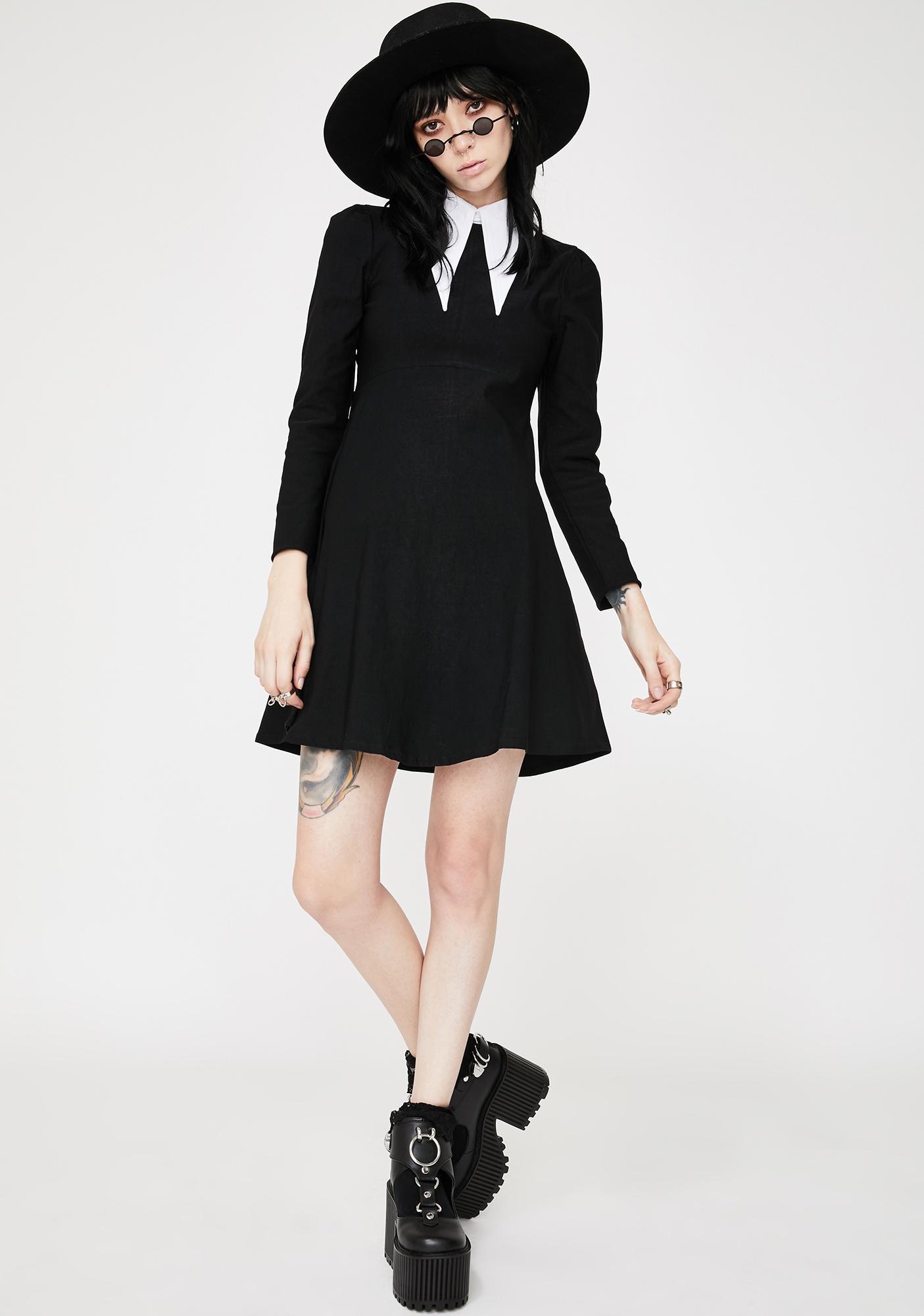Killstar Cathedral Skater Dress