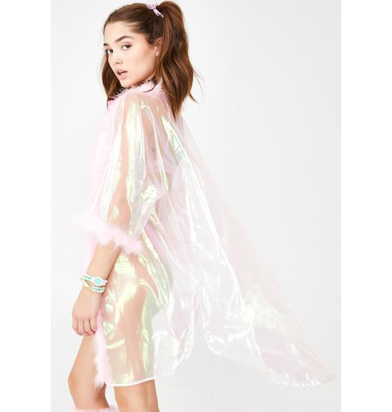 Sparkl Fairy Couture Iridescent Fab Kimono