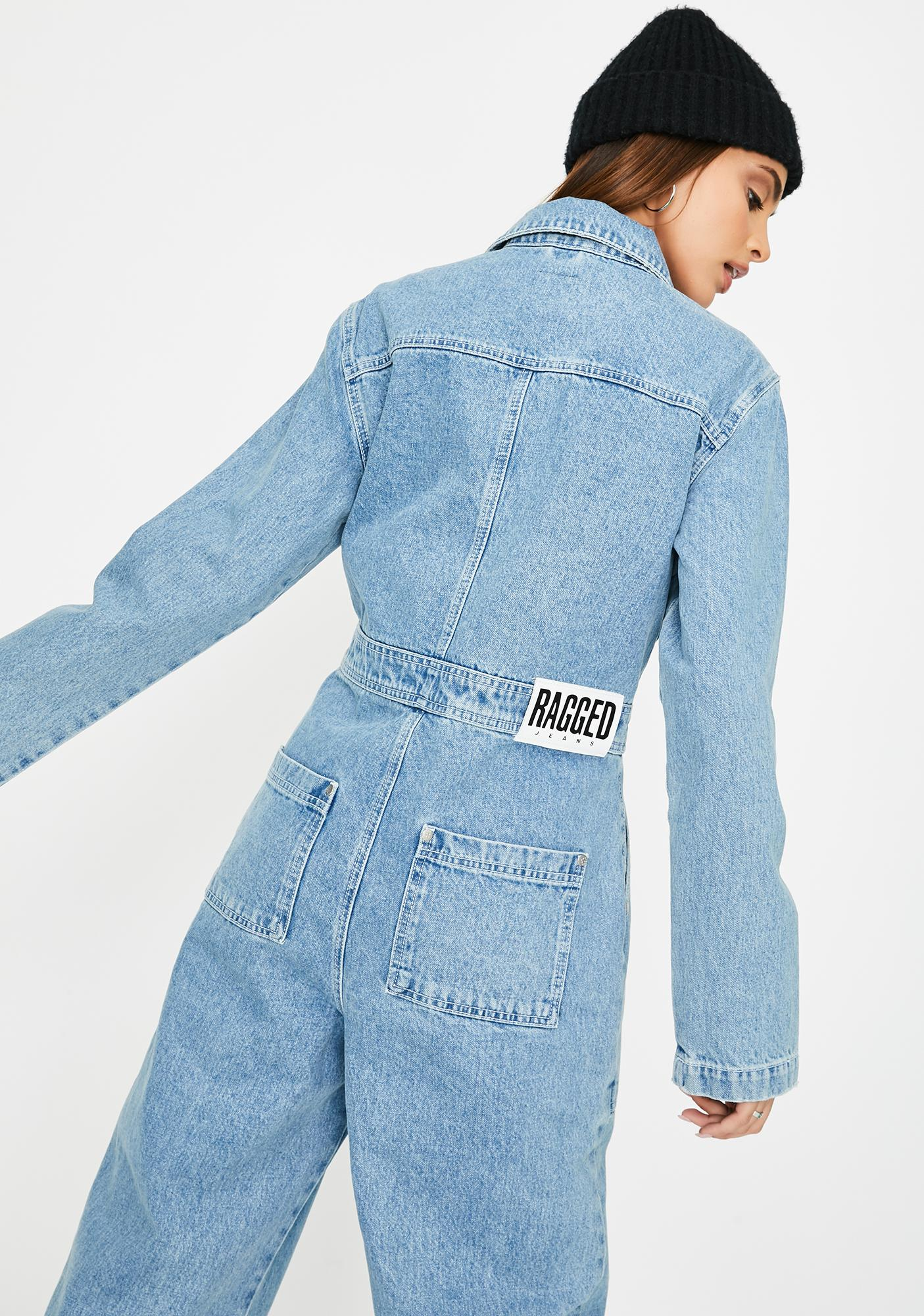 The Ragged Priest Denim Boiler Suit