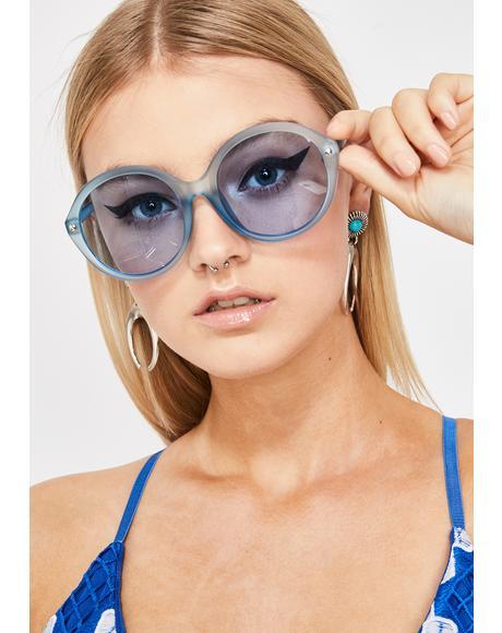 Mz. Magoo Circle Sunglasses