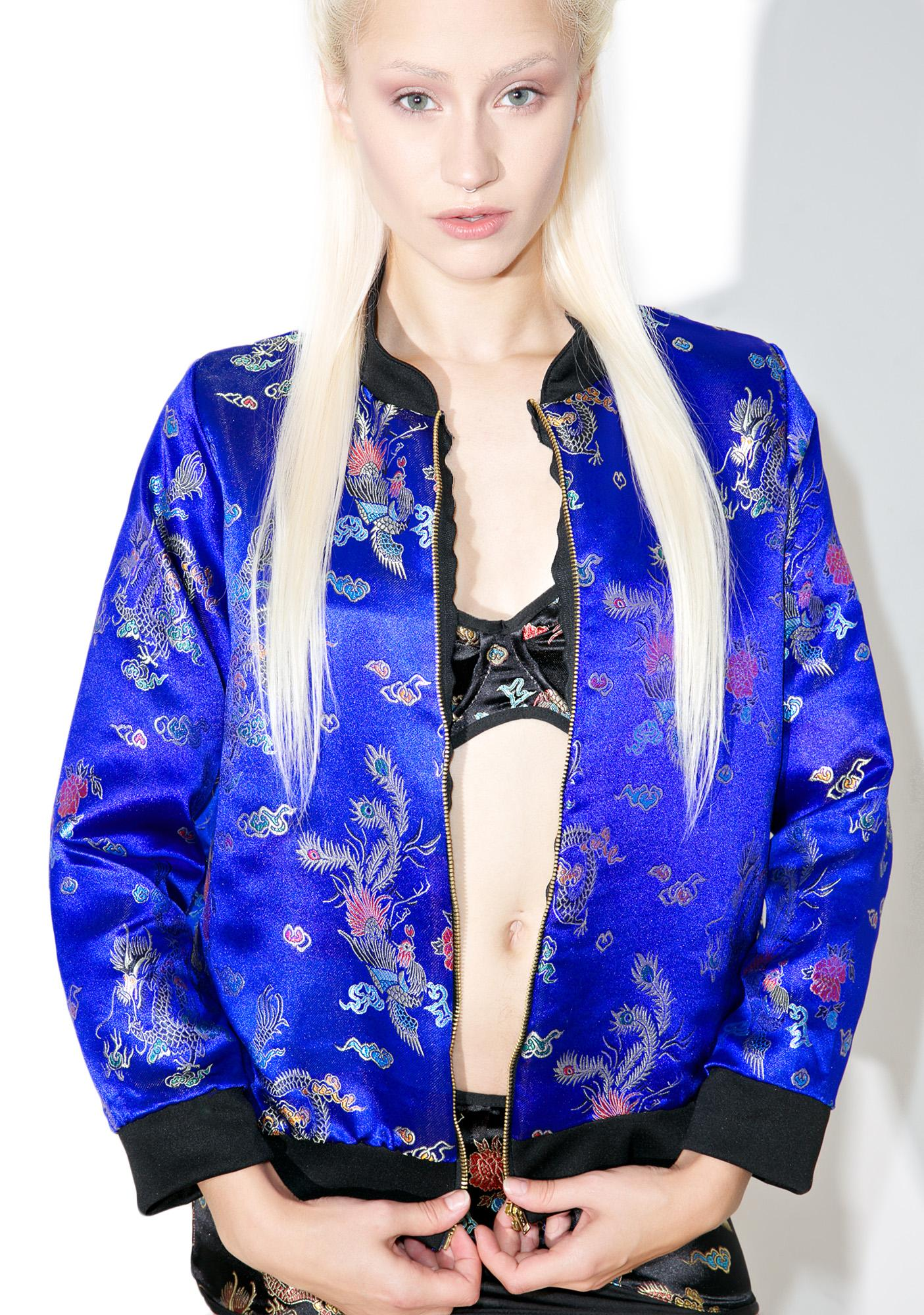 O Mighty Chun Li Bomber Jacket