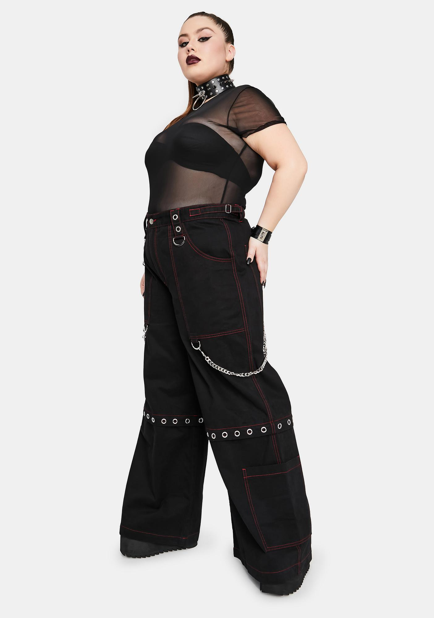 Widow Her Power Of Evil Convertible Wide Leg Pants