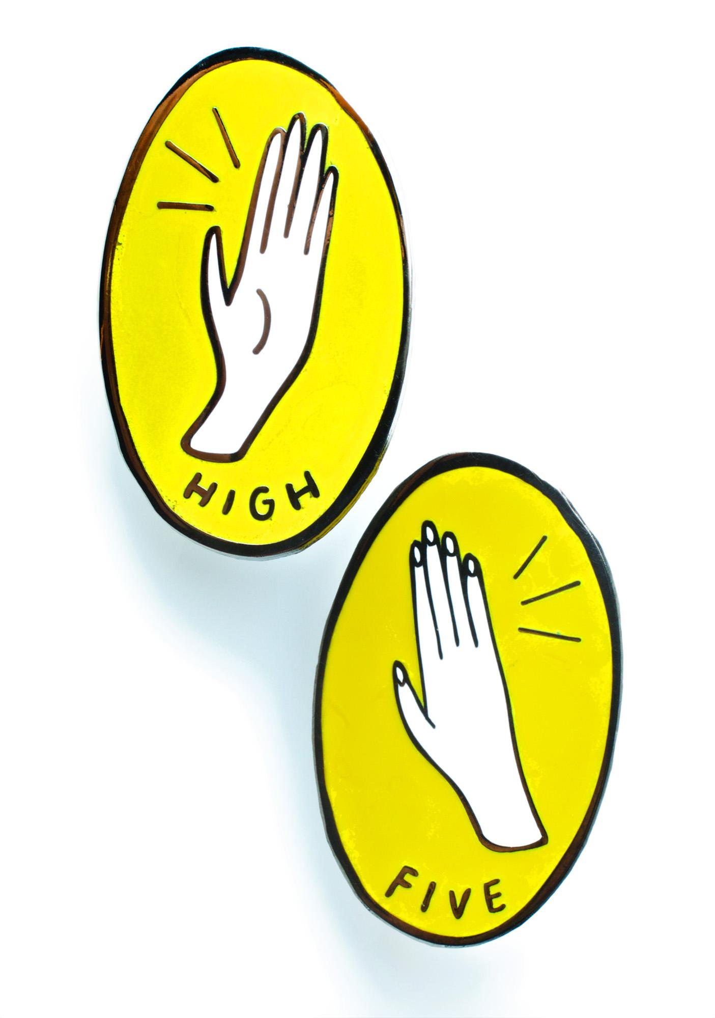 Valley Cruise Press High Five Pin Set