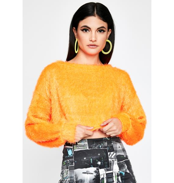 On Your Mind Crop Sweater