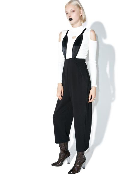 Rabbit Suspender Jumpsuit