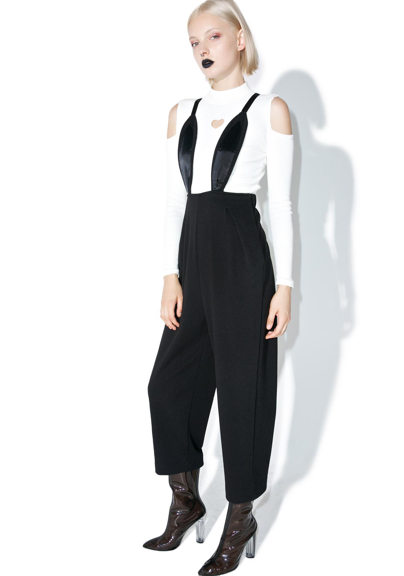 one spo Rabbit Suspender Jumpsuit