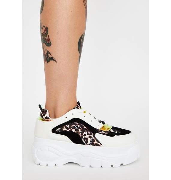 Fast Like A Cat Platform Sneakers