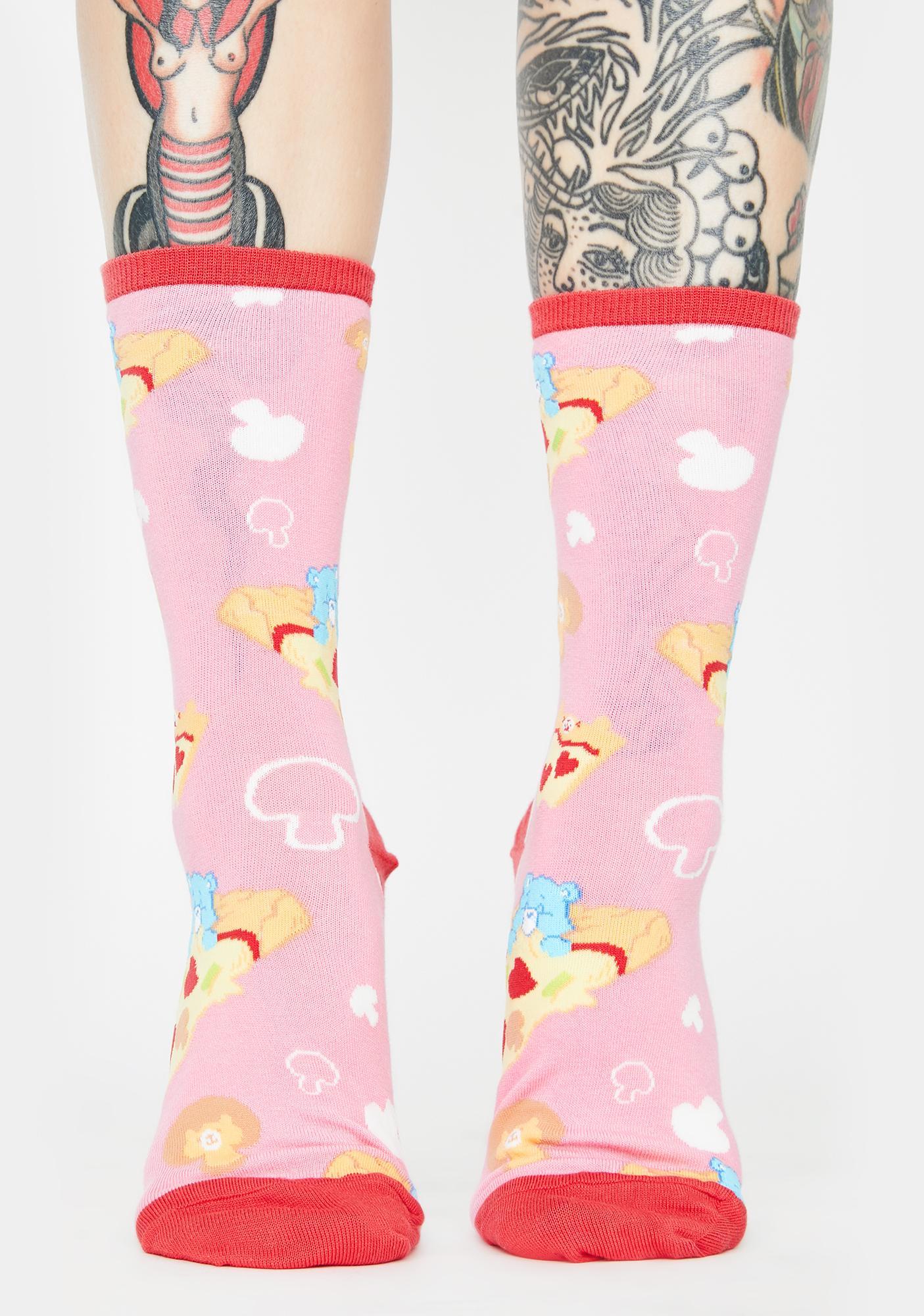 Socksmith Design Pizza Dreams Crew Socks