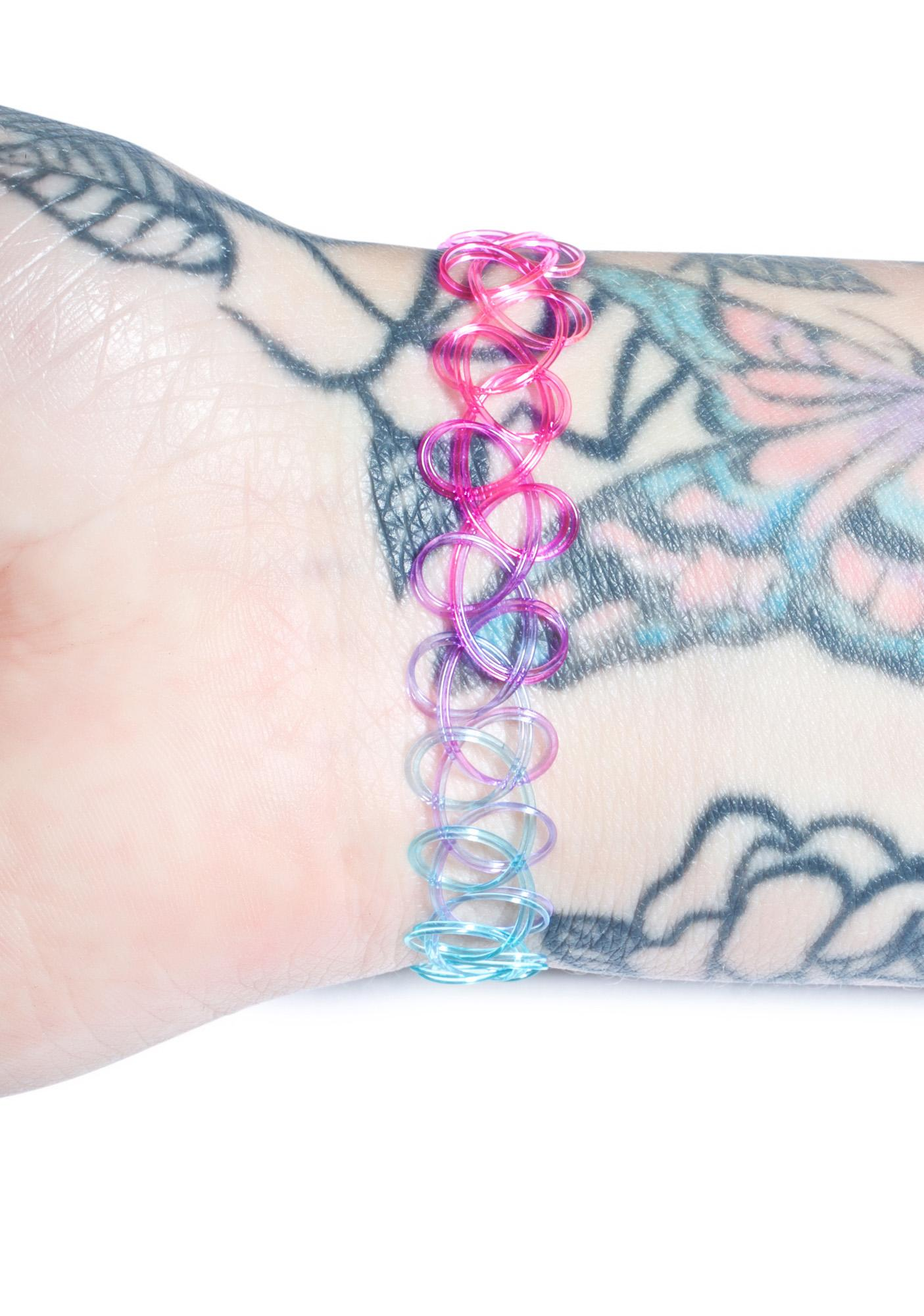 Old Skool Tattoo Bracelet