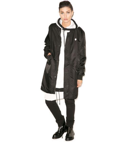 Long Clothing Long Fit MA1 Jacket