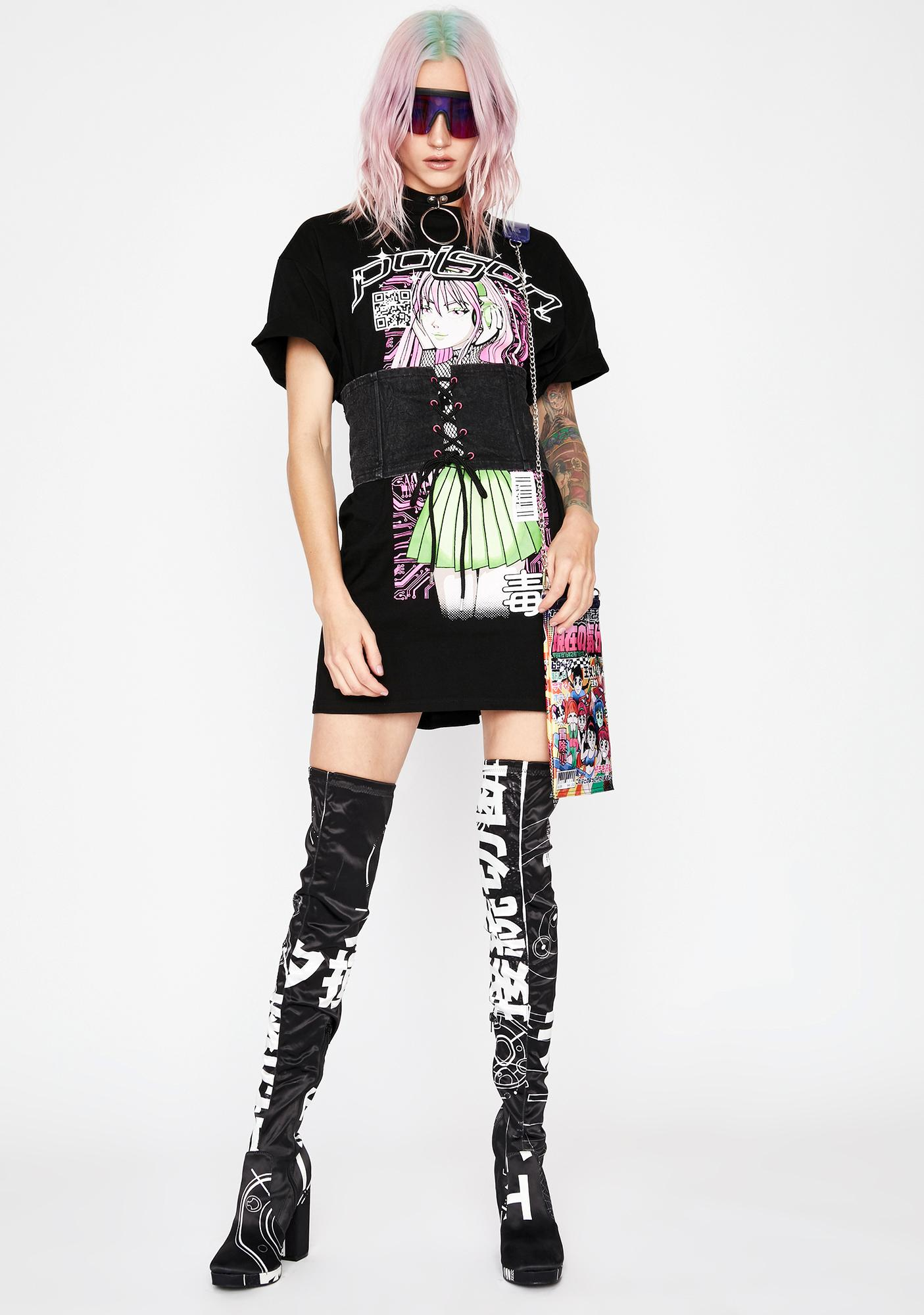 Current Mood Rude Queen Corset Dress
