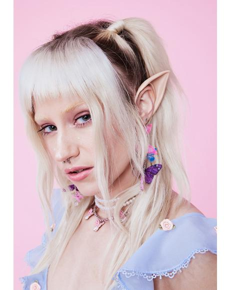Beige Short Elf Ears