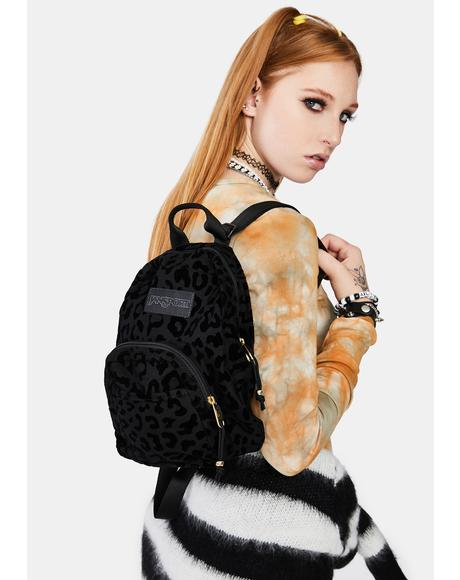Half Pint Lux Leopard Print Backpack
