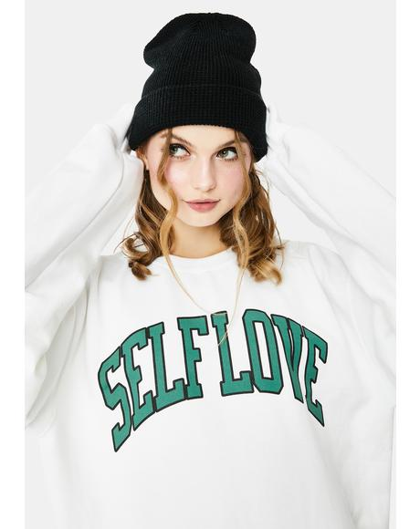 Self Love Crewneck Sweatshirt