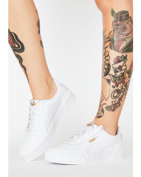 White Carina Classic Sneakers