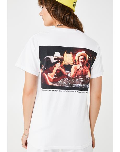 Seinfeld Hot Tub Cowboys Graphic Tee