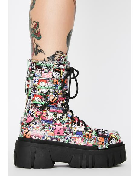 Reckless Adventure Combat Boots