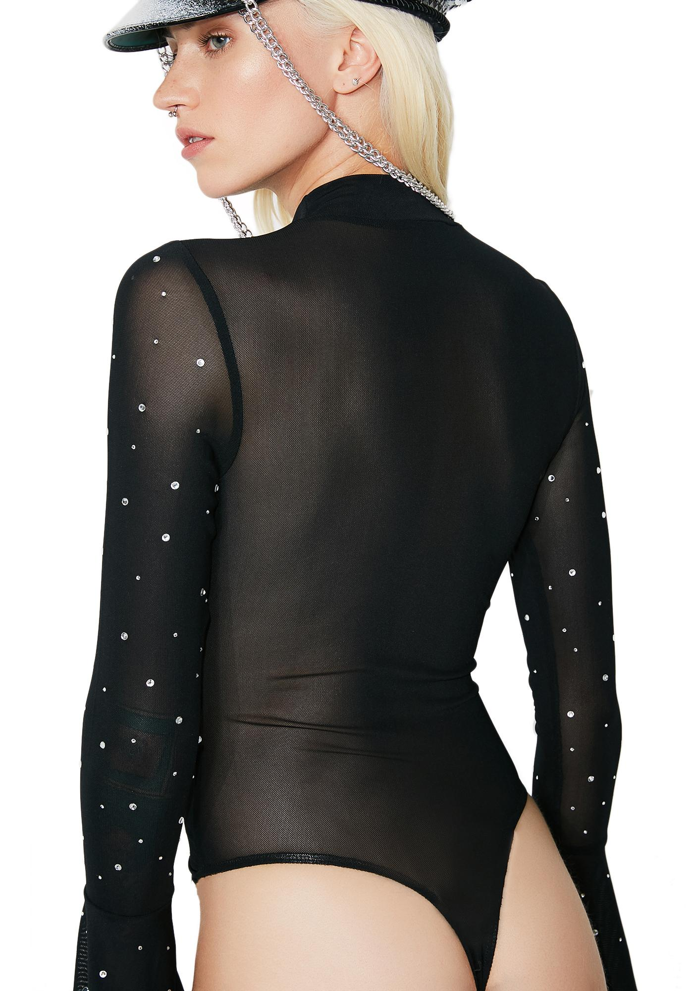 Fire And Ice Sheer Bodysuit